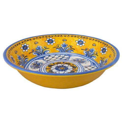 Le Cadeaux Melamine Benidorm Yellow Salad Bowl