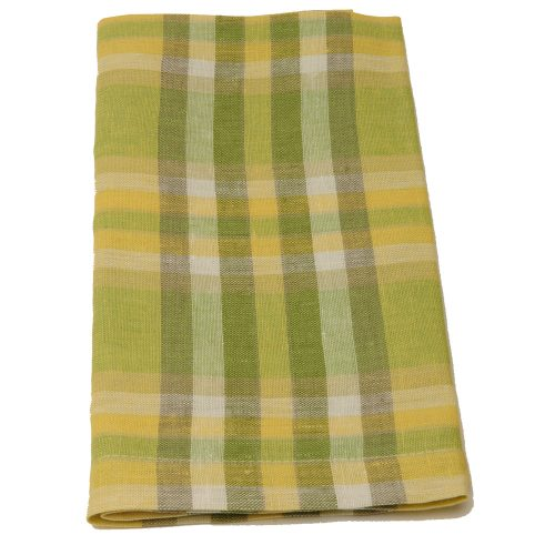Deborah Rhodes Napkin Plaid Green