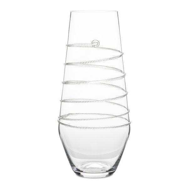 """Juliska Amalia 16"""" Clear Vase"""