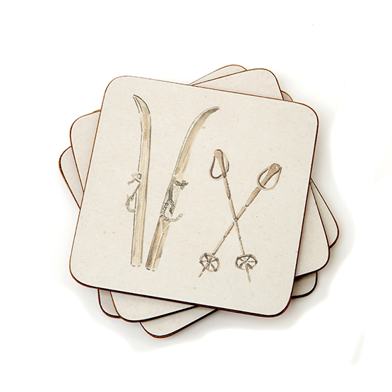 Chehoma Ascentielle Ski and Poles Coasters