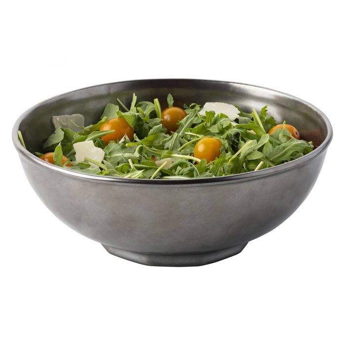 "JULISKA PEWTER STONEWARE 10"" Serving Bowl"