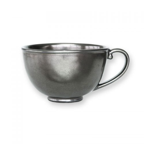 JULISKA Pewter Stoneware Tea/Coffee Cup