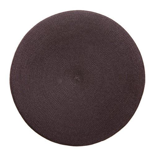Deborah Rhodes Placemats Round Chocolate