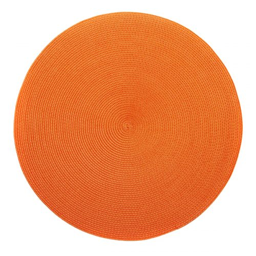 Deborah Rhodes Placemats Round Orange