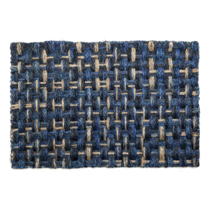 Deborah Rhodes Placemats SALA SALA WEAVE Navy Rectangle