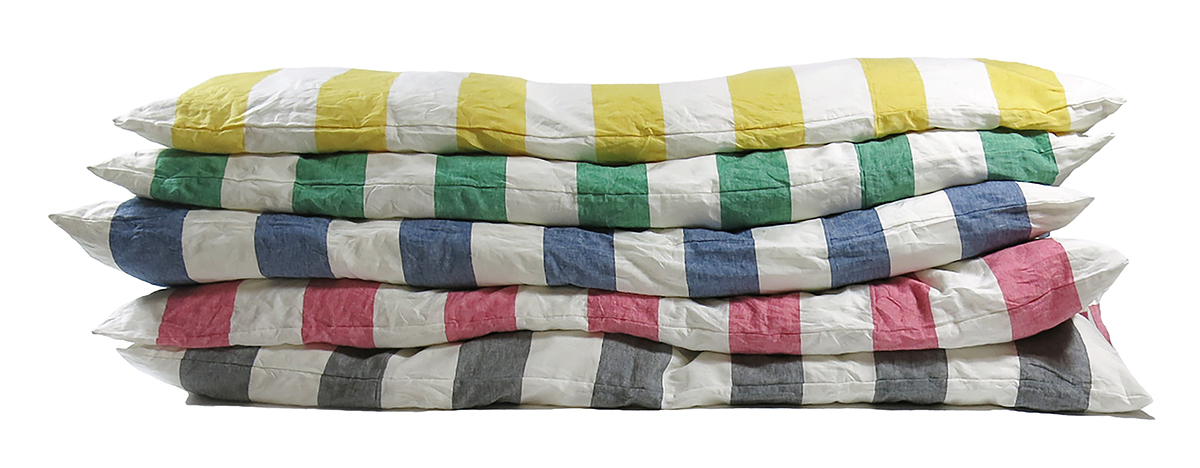 Hedgehouse Throwbed Harbour Island Wide Stripe_group