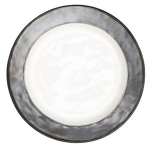 JULISKA PEWTER STONEWARE Emerson Dinner Plate