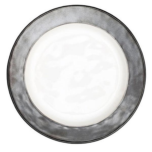 JULISKA PEWTER STONEWARE Emerson Dinner Plate
