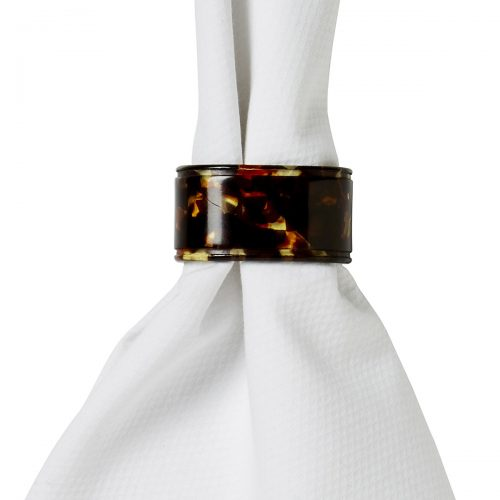 Juliska Oval Tortoise Napkin Ring