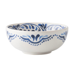 Juliska Wanderlust Iberian Journey Indigo Cereal/Ice Cream Bowl
