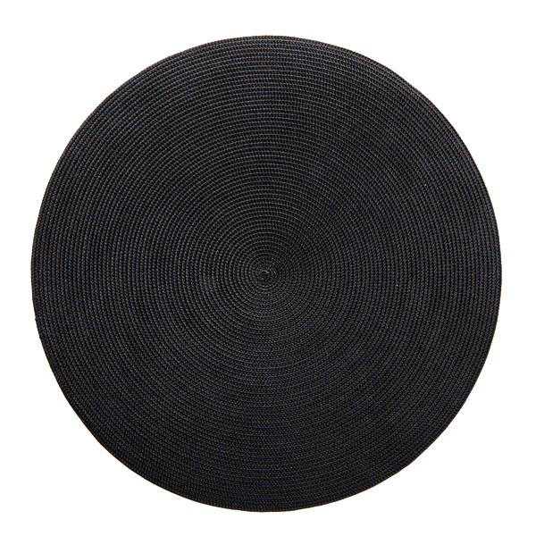 Deborah Rhodes Placemats Round Black