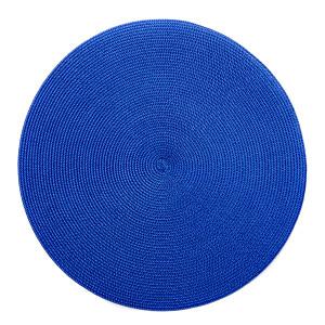 Deborah Rhodes Placemats Round Clementine Blue