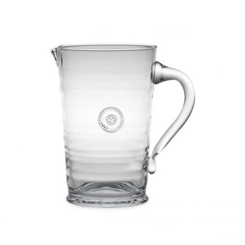 Juliska Glassware Berry & Thread Pitcher