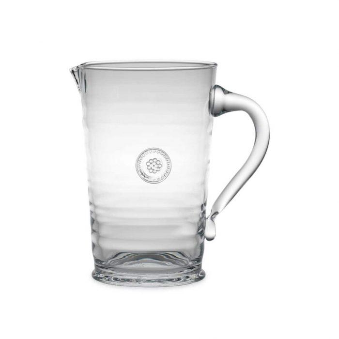 Juliska Glassware Berry & Thread Pitcher