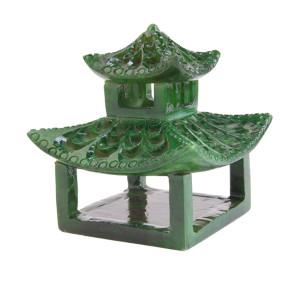 Kim Seybert Napkin Rings Pagoda Emerald