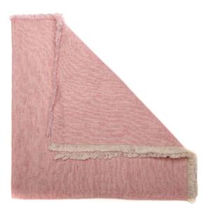 Deborah Rhodes Napkin WASHED FRINGE Pink