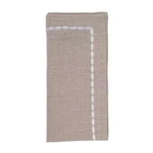 Kim Seybert Napkin Corded Ombre Natural/White