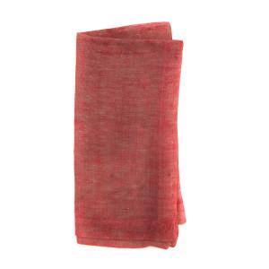 DEBORAH RHODES Napkin Rustic Weave Coral