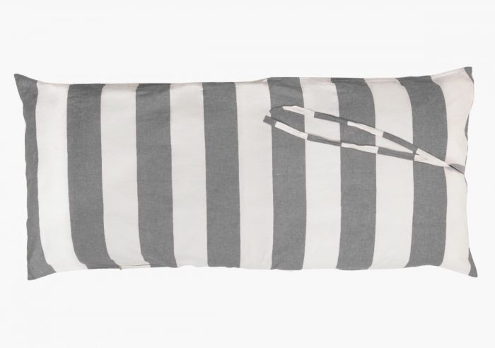 Hedgehouse Throw Bed-Wide Stripe Charcoal
