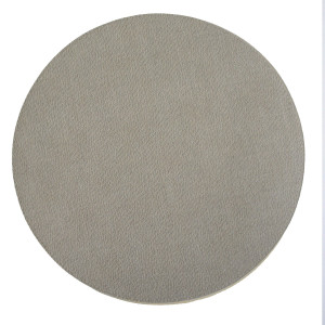 Bedroom Placemat Round Vinyl Oatmeal
