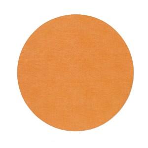 Bodrum Placemat Round Presto Orange