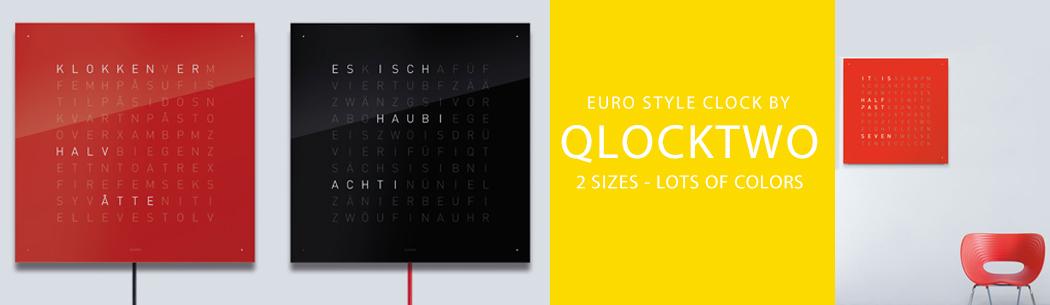 qlocktwo clocks