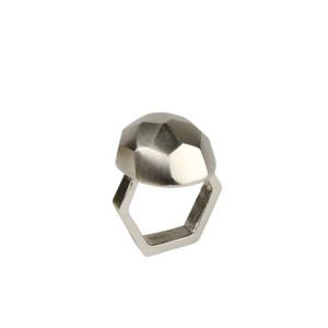 Kim Seybert Napkin Ring Amulet Silver