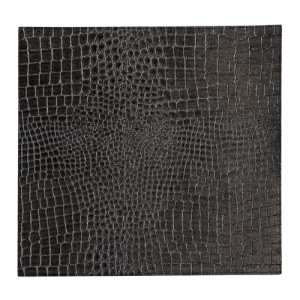 Bodrum Placemat Square Gator Charcoal