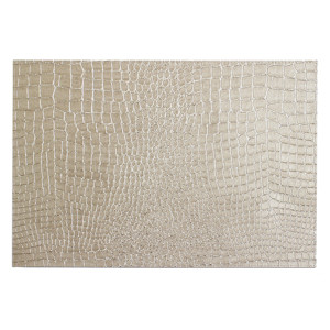 Bodrum Placemat Rectangle Pearl