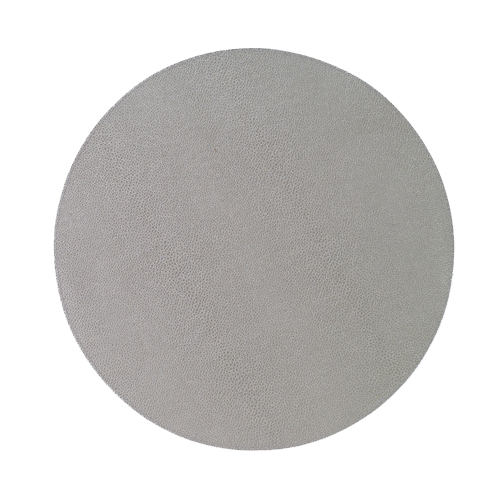 Bodrum Placemat Round Skate Gray