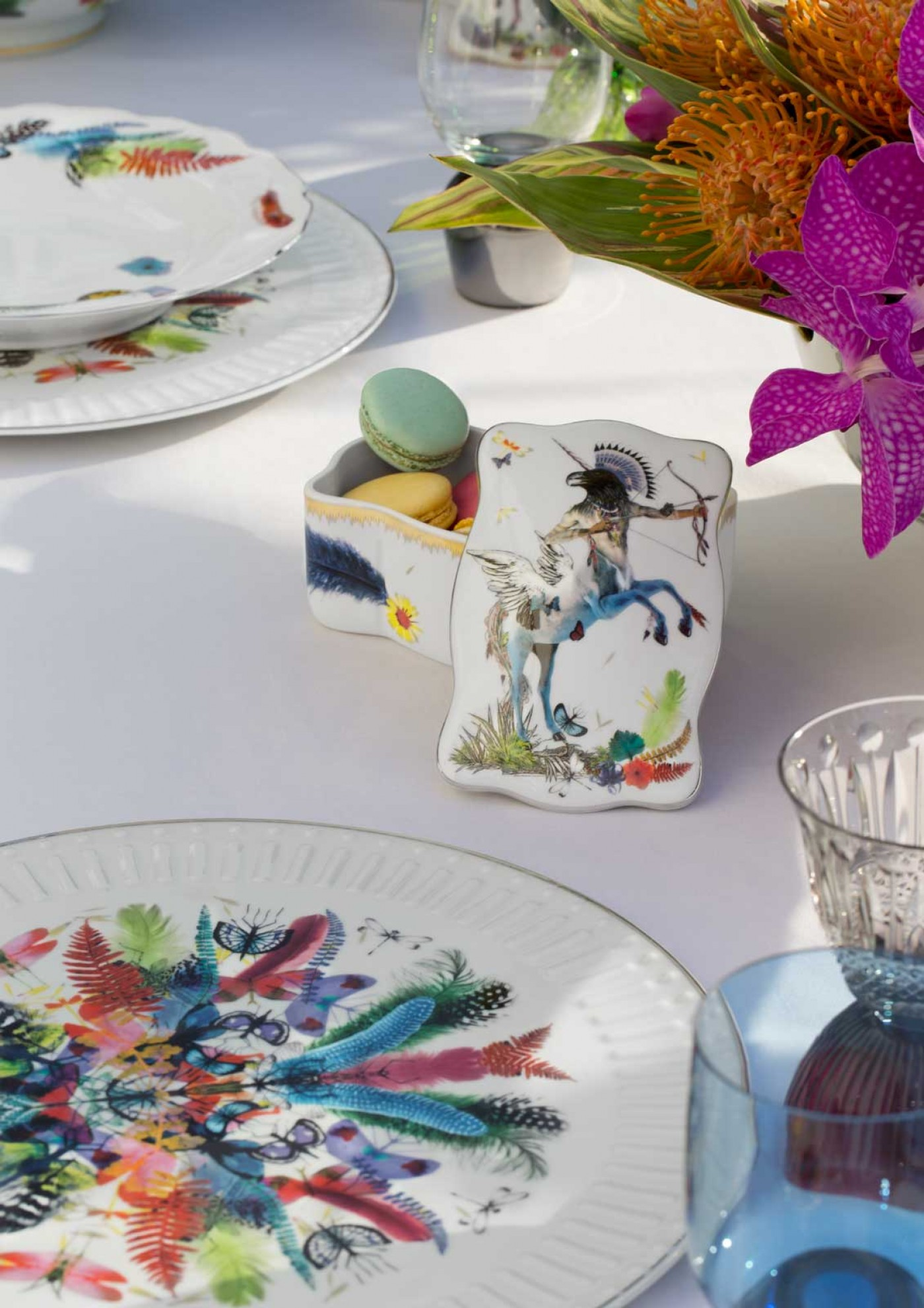 Christian Lacroix-Butterfly Parade Dinnerware & Christian Lacroix
