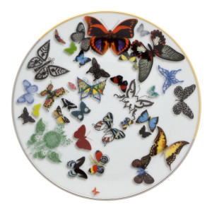 Christian Lacroix Dinnerware-Butterfly Parade Dessert Plate