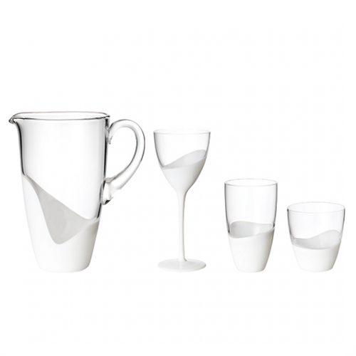 Kim Seybert Vague Glassware