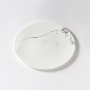 """Dibbern Carrara Oval Platter 11"""""""