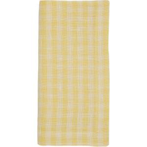 Deborah Rhodes Napkin Gingham Yellow