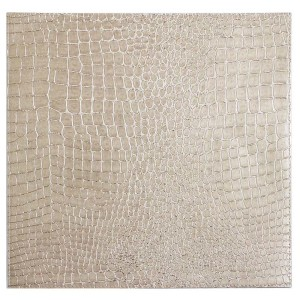 Bodrum Placemat Square Gator Pearl