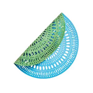 Kim Seybert FIESTA BLUE & GREEN PLACEMAT