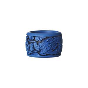 Kim Seybert Napkin Ring Chinoiserie Blue
