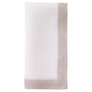 Bodrum Napkin Orta White Tan