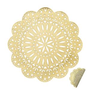 Kim Seybert Fête Reversible Placemat Gold/Beige