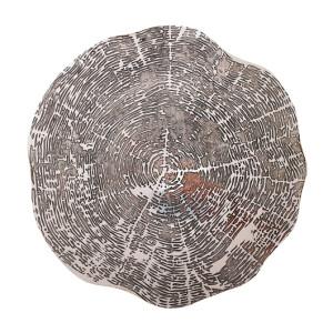 Kim Seybert Placemat Timber Silver