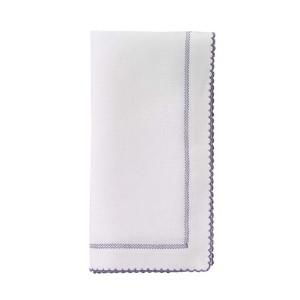 Bodrum Napkin Pico White Charcoal