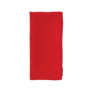 Bodrum Napkin Riviera Poppy Red