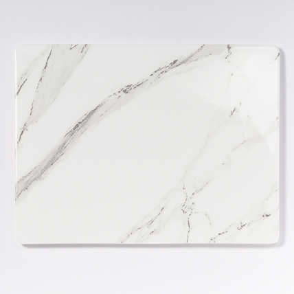 "Dibbern Carrara Rectangle Platter 9.5"" x 12.5"""