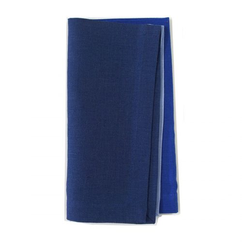 Tina Chen 3 Color Blues Napkin
