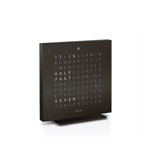 QLOCKTWO TOUCH - Special Edition Deep Black