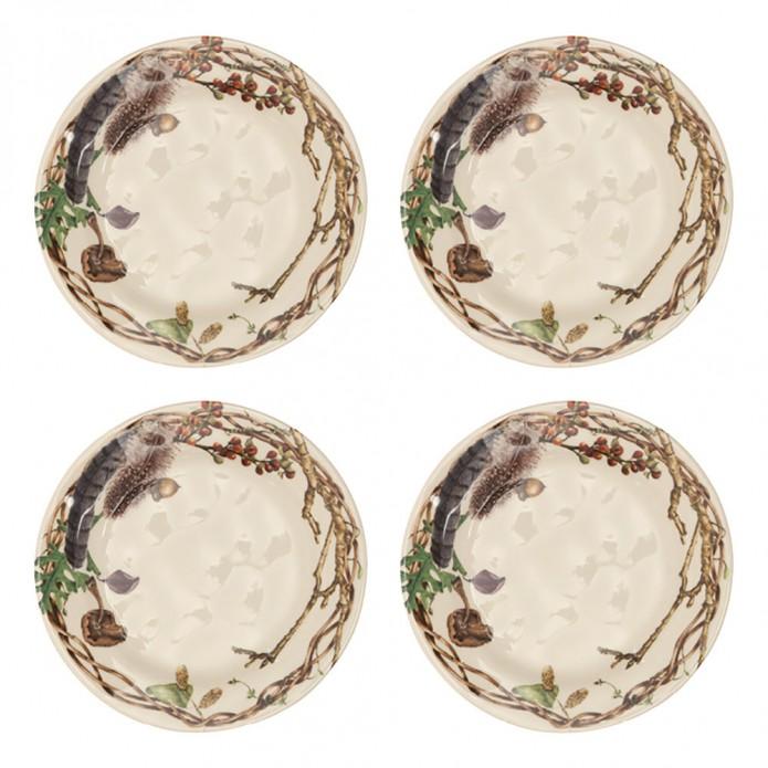 Juliska Forest Walk Forest Party Plates Set/4