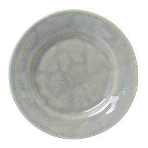 Juliska Puro Mist Grey Crackle Side/Cocktail Plate