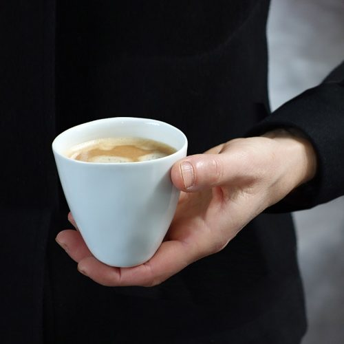 Tse & Tse THIRSTY COFFEE CUP, WHITE
