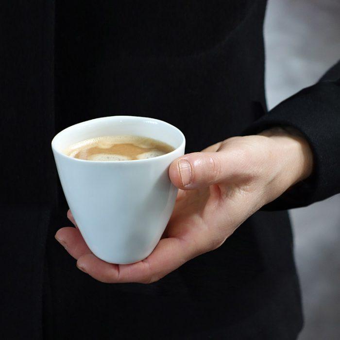 Tse & Tse THIRSTY COFFEE CUP, WHITE